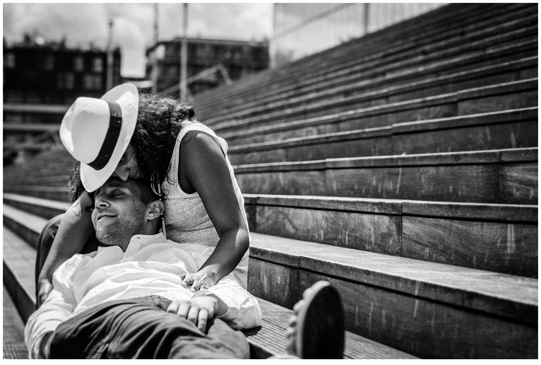 Une séance photo fun et romantique à Paris