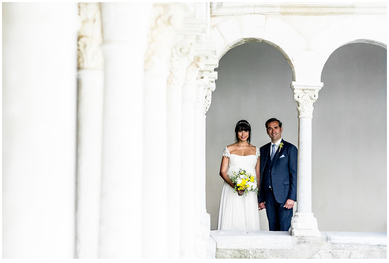 un mariage au château Grimaldi