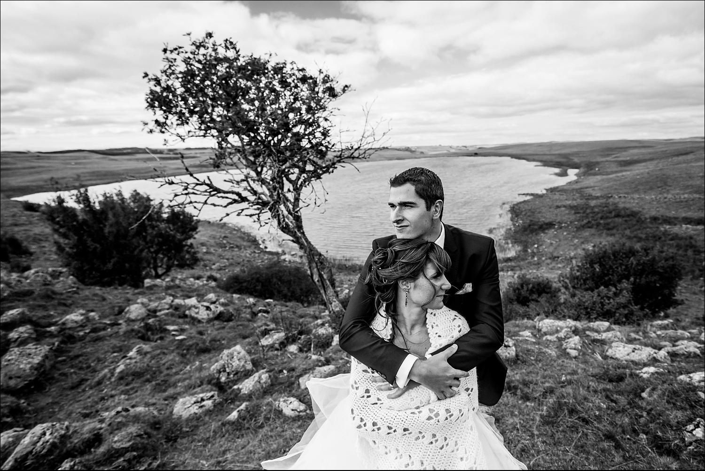 Une séance photo de couple près de Laguiole