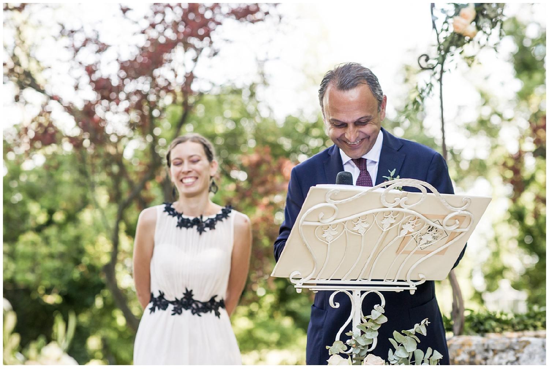 Un mariage à l'isle sur la sorgue