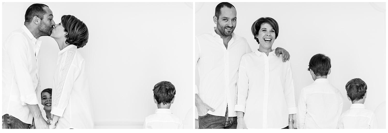 Une séance photo avec une famille heureuse à Lyon