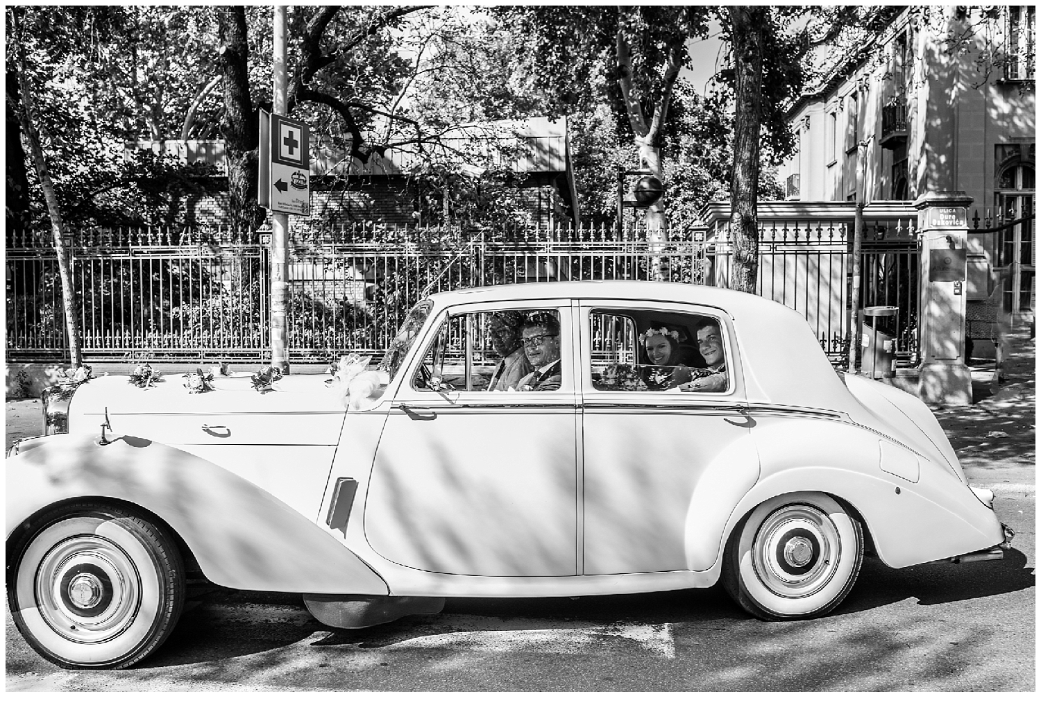 Un mariage intense et élégant à Belgrade