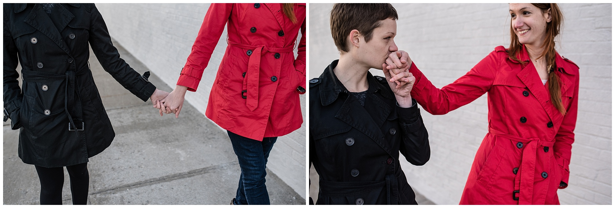 Deux amoureuses à New-York en hiver